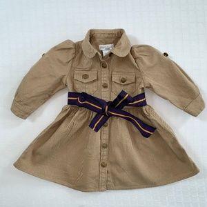 Ralph Lauren Khaki Dress 6 months